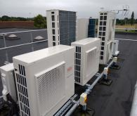 air conditioning unit installation condensers